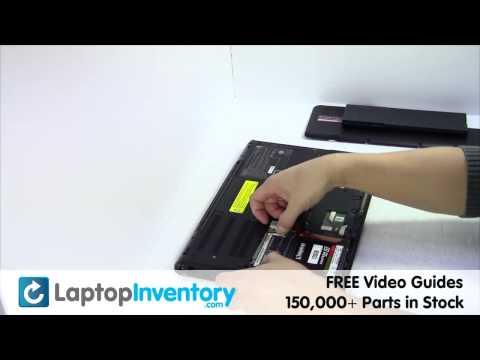 Sony Vaio VPC-SB RAM Wireless Card Replacement Guide - VPC-SA VPCSA VPCSB PCG 41216L
