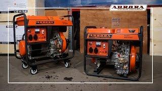 Дизельные генераторы ADE 4500D и 6500D. Электричество без перерывов(Номинальная мощность генераторов составляет 2.8 (4500) и 5 (6500) кВт, максимальная 3 и 5.5 кВт. Такая мощность устрой..., 2015-03-12T09:43:42.000Z)