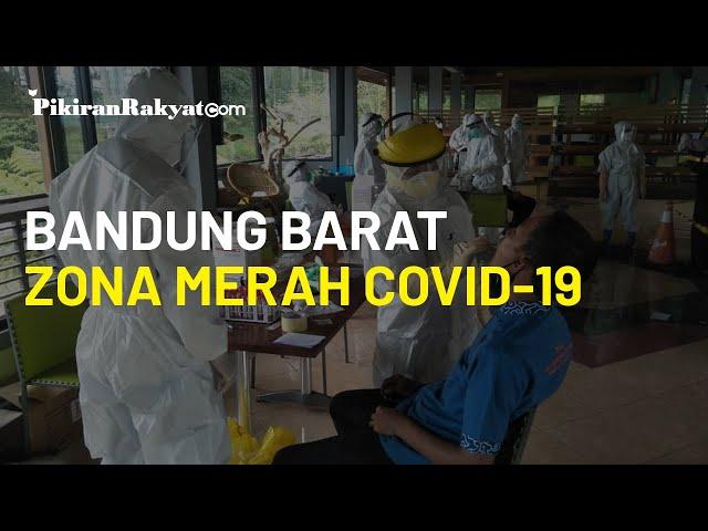 Bandung Barat Masuk Zona Merah Covid-19 Lagi, Satgas: Libur Panjang Diam Dulu di Rumah