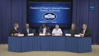 White House Champions of Change for Advancing Prevention, Treatment, and Recovery