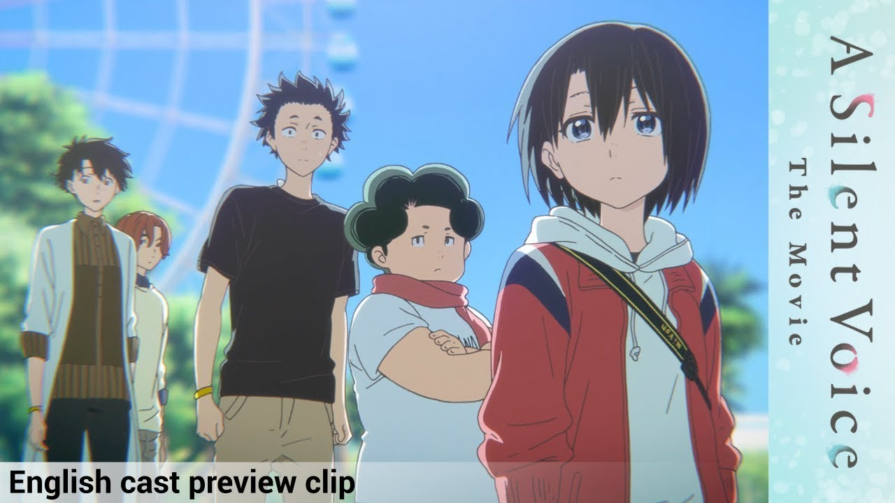 a silent voice english cast preview official clip 2 youtube