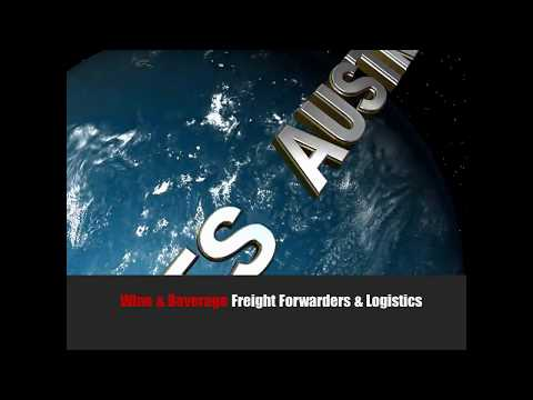 Wine freight forwarders Australia to Europe China and Asia