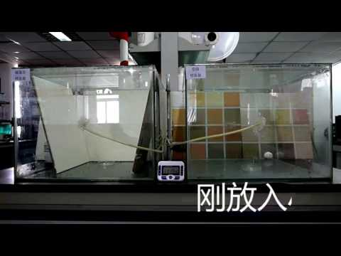 硅藻泥甲醛去除对比 diatom ooze & cascophen removal comparasion / beijing oriental yuhong