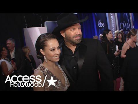 Garth Brooks Calls Trisha Yearwood The Love Of His Life At The CMAs | Access Hollywood