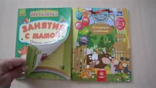 Проверка знаний тестовые книги 2 - 3 года (Занятия с мамой, Домашняя академия)