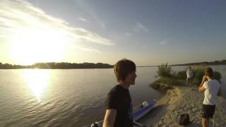 Сплав Ольшанка-Днепр-Долгун(24 мая 2014 года небольшой заплыв с восходом солнца. Прошли по трем рекам: Ольшанка, Днепр, Долгун. Завтрак..., 2014-06-18T14:58:40.000Z)