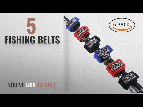 Top 10 Fishing Belts [2018]: Fishing Rod Belts Ties Stretchy Magic Bait Casting Spinning Rod Straps