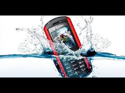 Samsung B2100 Water Proof Test