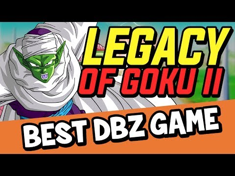 Legacy Of Goku 2 - Best Dragon Ball Z Game