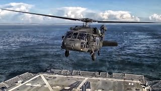Helicopter Landing On Moving Navy Ship • It Takes Practice