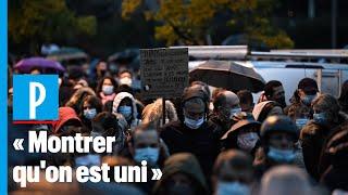 Marche blanche pour Samuel Paty : 6000 personnes rassemblées à Conflans-Saint-Honorine