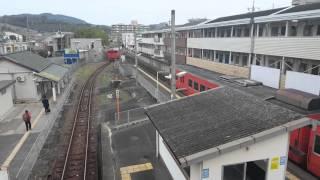 朝の法界院駅