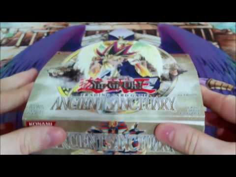 Yugioh Ancient Sanctuary [AST] 1st edition 24 pack booster box opening