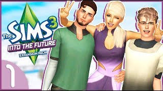 Time Travelers💫👾| Sims 3 Let's Play - Into The Future | Part 1