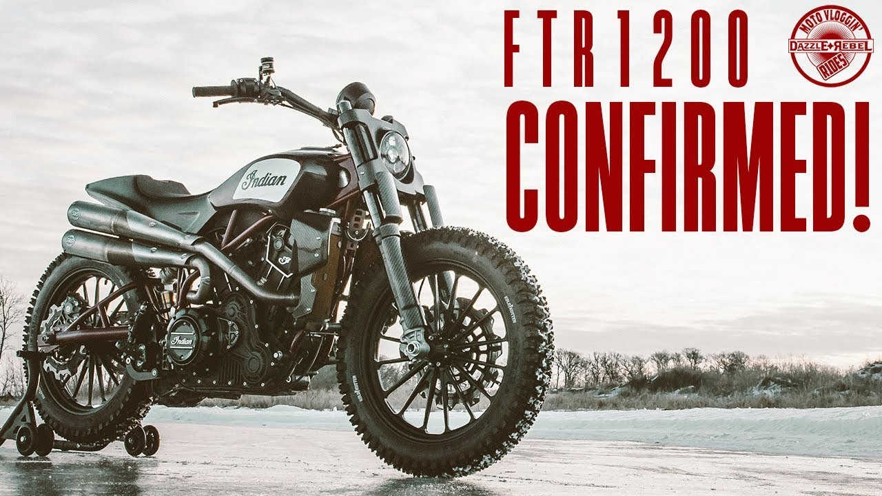 2018 Indian Motorcycle Rumors >> 2019 Indian FTR1200 Confirmed! | Moto News - YouTube