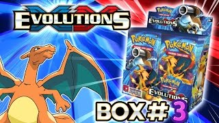 turbo opening xy evolutions booster box 3 all 36 packs pokemon tcg unboxing