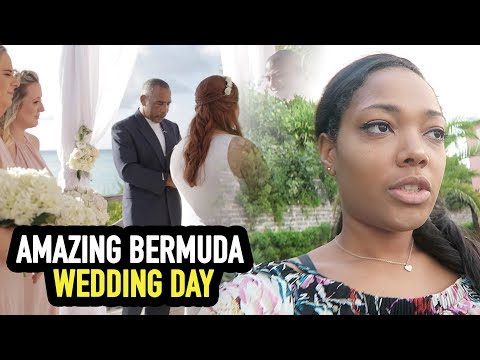 AMAZING BERMUDA WEDDING DAY!!