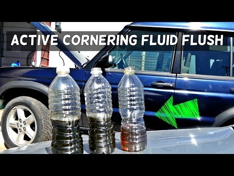 HOW TO FLUSH ACE ACTIVE CORNERING LAND ROVER RANGE ROVER