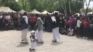 رقص يمني ( برع ) في أنقرة تركيا