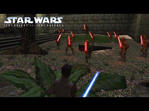 SLICE YOU IN HALF! - STAR WARS Jedi Knight II - Jedi Outcast