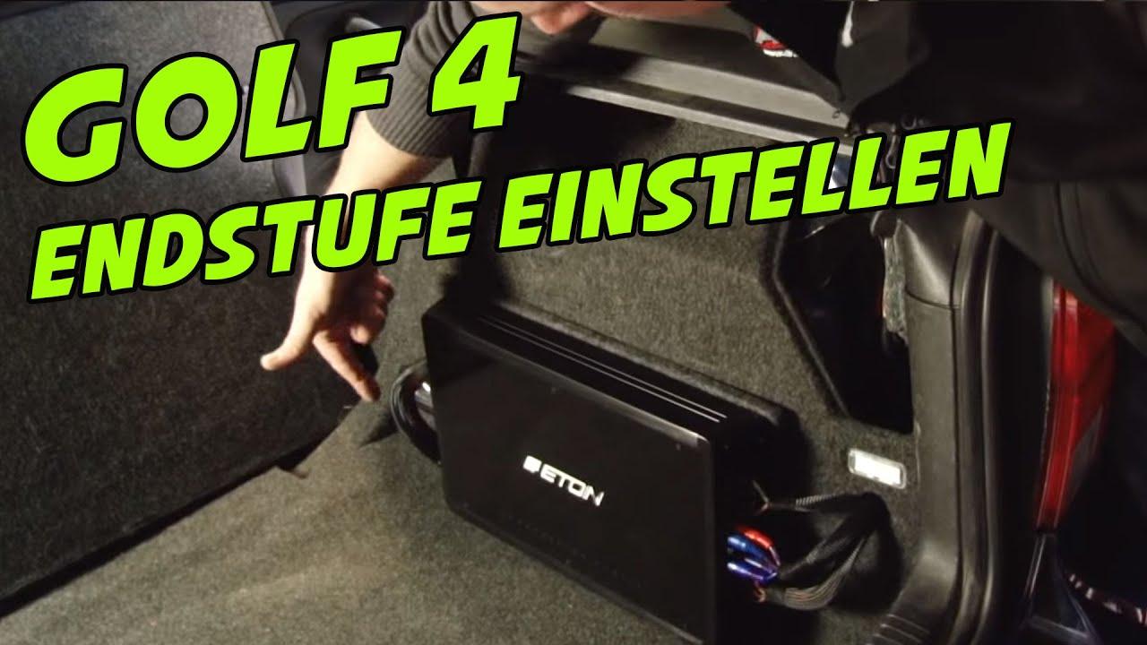 ETON ECC 500.4 ENDSTUFE ANSCHLIEßEN UND EINSTELLEN ARS24COM CAR-HIFI ...