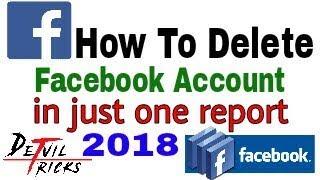 Facebook account block in one report 2018-Devil Tricks