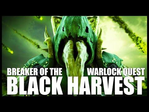 "World of Warcraft: Warlock Green Fire Quest - ""Breaking the Black Harvest"""