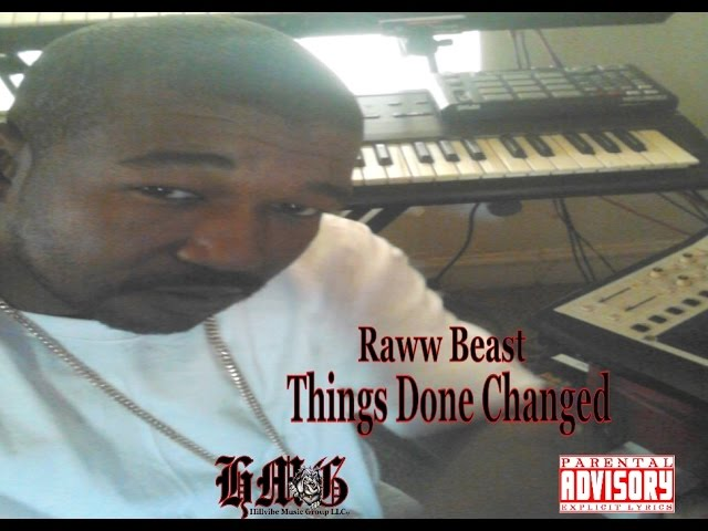 Things Done Changed - Raww Beast  (Produced By Raww Beast 4 Hillvibe Music)