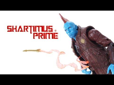 Marvel Legends Yondu Guardians of the Galaxy Vol. 2 Titus BAF Wave Movie Action Figure Toy Review