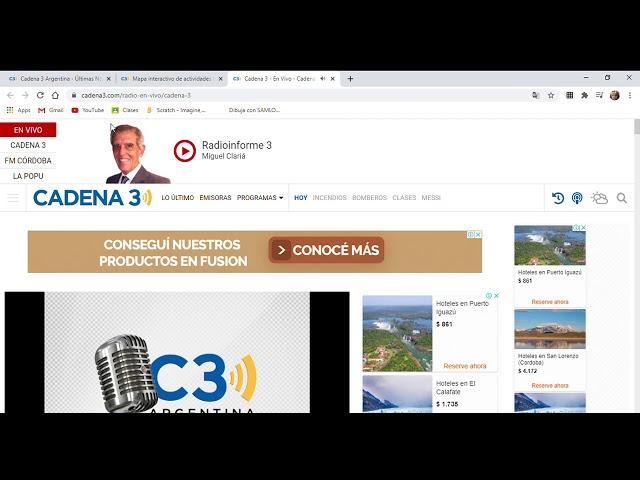 Cadena 3 En Vivo Cadena 3 Argentina Youtube