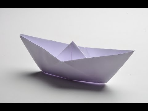 How To Fold Paper Boat Full Hd