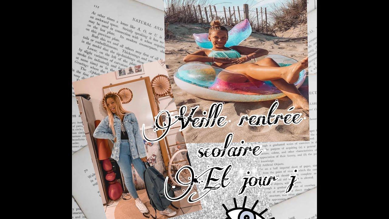 BACK TO SCHOOL ~ VEILLE DE RENTRÉE SCOLAIRE ET JOUR J ~