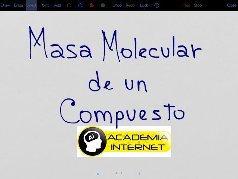 Como calcular la Masa Molecular de un compuesto químico