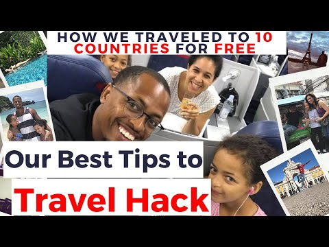 Travel Hacking | How to Travel the World for FREE! (#TravelHacking)