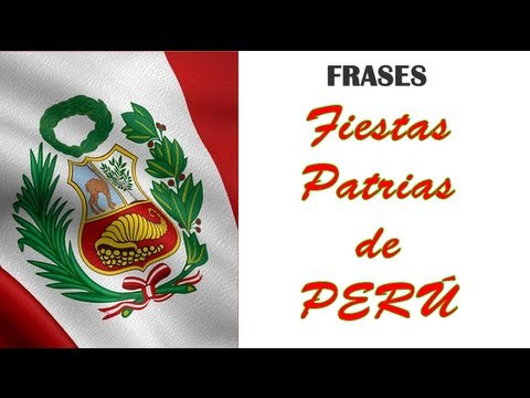 Frases por fiestas patrias peru youtube for Diario mural en ingles