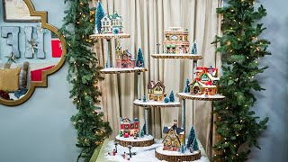 DIY Christmas Village Stand - Home & Family