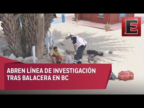 Víctimas de balacera en Baja California no eran turistas: Procurador de BC