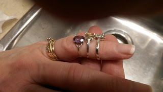 How to clean .925 Sterling Silver Jewelry
