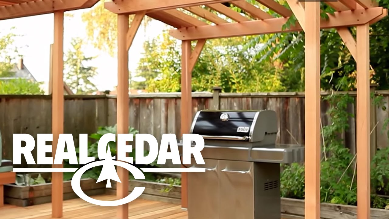 How To Build : Bbq Cover  Realcedar
