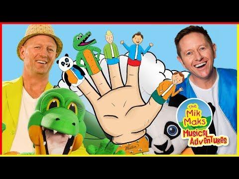 Finger Family Song   Daddy Finger Nursery Rhymes For Children   The Mik Maks