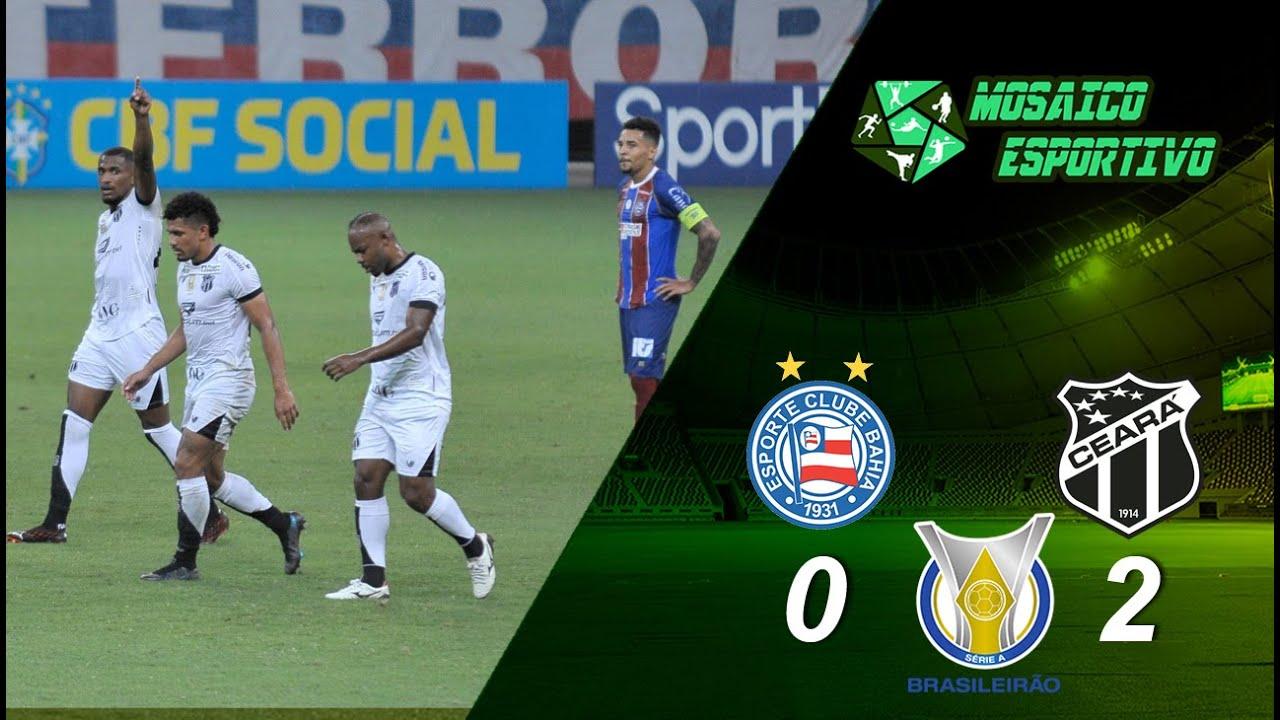 Série A: Bahia perde para Ceará e segue sem vencer