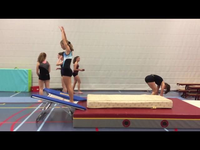 Twist Salto Drills and Exercises Floor Gymnastics