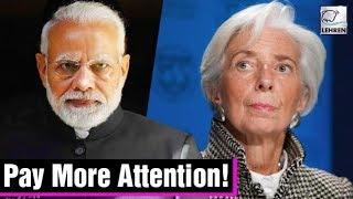 PM Modi TAUGHT A Lesson BY IMF Chief Christine Lagarde | Lehren News