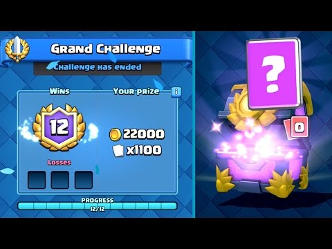 Clash Royale - PERFECT 12 Win Challenge Deck!