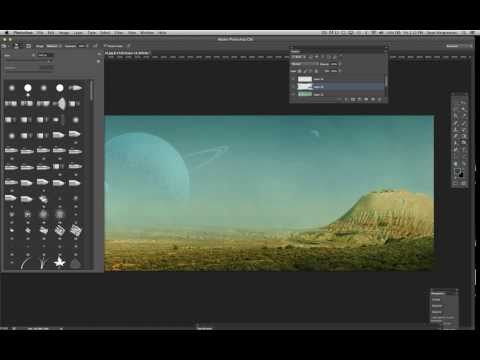TUTORIAL 12: PHOTOSHOP - PART 2:  Making a planet