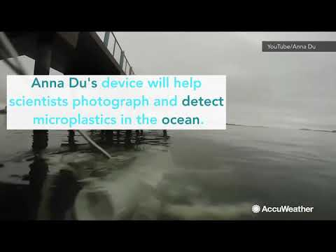 12-year-old engineer invents device to combat ocean microplastic pollution