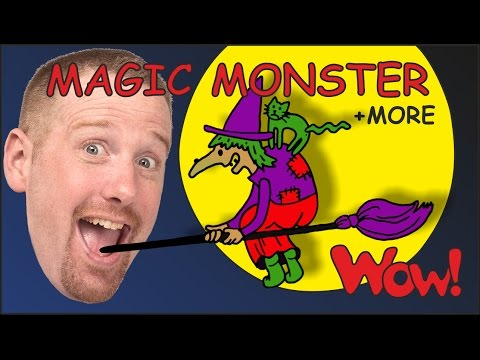Magic Monster Stories for Kids from Steve and Maggie + MORE   Wow English TV