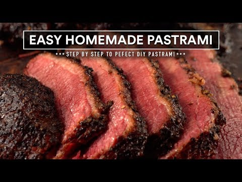 EASY Homemade PASTRAMI, Step by Step to Perfect DIY Pastrami!