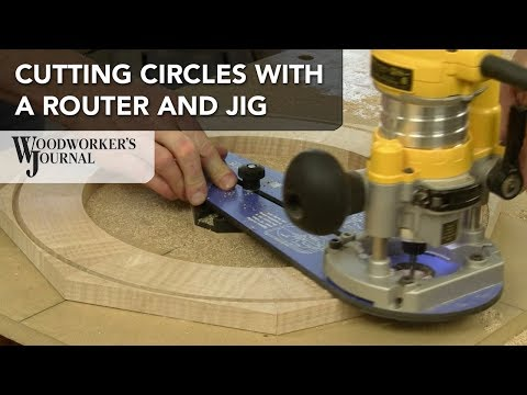How to Cut Circles with a Router and Jig