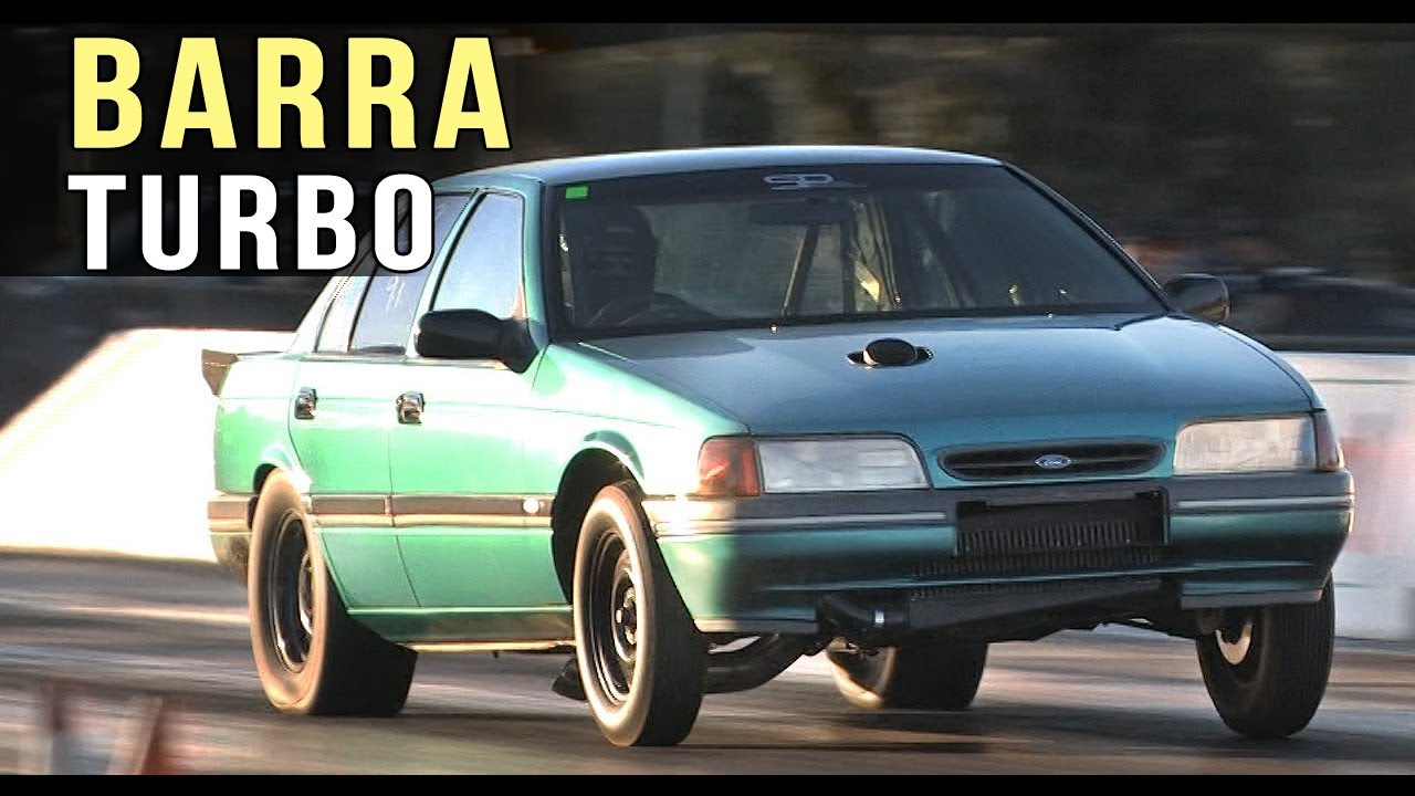Ford Falcon ED with BARRA power